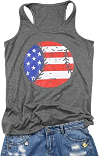 sleeveless flag shirt