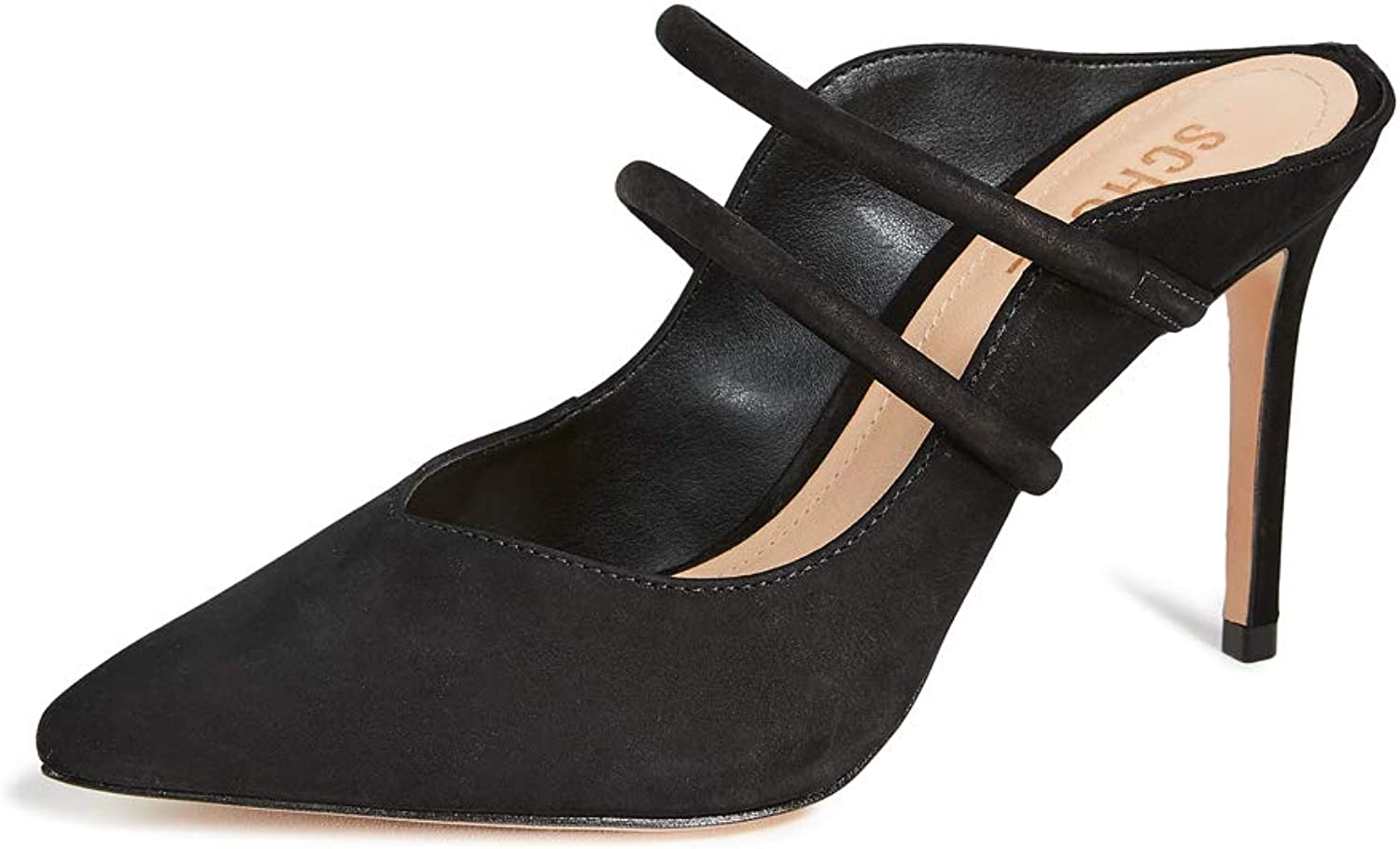 Schutz Women's Twila Point Toe Mules