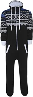 Fashion Oasis Kids Boys Girls Aztec Hooded Onesie All in One Jumpsuit Sizes 2-16 Years
