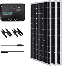Renogy Monocrystalline Solar Bundle Kit, 300 Watt, Panel