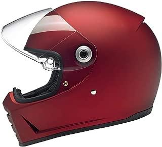 Biltwell Lane Splitter Helmet - Flat Red - X-Large