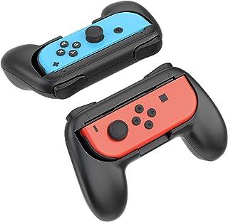 YOSH Joy Con Grip for Nintendo Switch Controller 2-Pack Mario Kart 8 Deluxe Comfort Pro Grip Handle Kits Enlarge Ergonomic...
