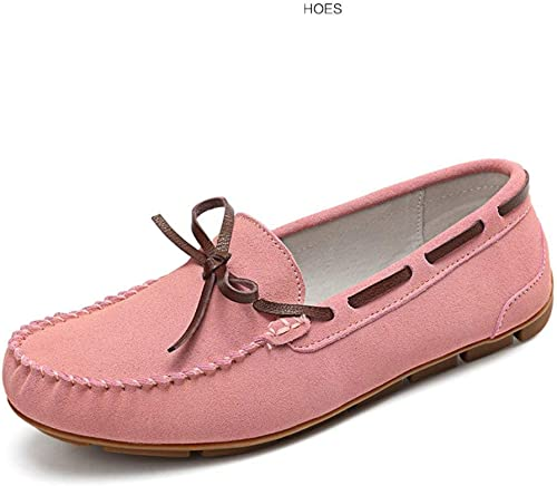 ZCW Chaussures décontractées polyvalentes OCC Moccasin-Gommino, Chaussures Basses, Chaussures Plates pour Femmes, Chaussures en Cuir pour Femmes, Chaussures pour Femmes Enceintes