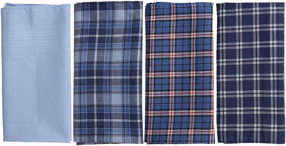 Handkerchief For Wedding Multi-Color 100% Cotton Floral Print Handkerchiefs 15