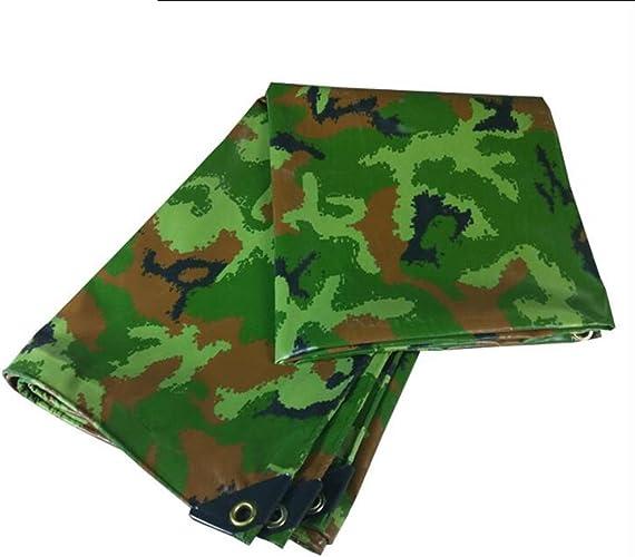Tente baches PENGJUN Camouflage Multi-usages imperméable à l'eau Ombre Camping extérieur bache de Camion diverses Tailles Il est grandHommest utilisé