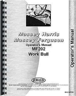 Massey Ferguson MF 202 Work Bull Operators Manual