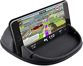 Loncaster Car Phone Holder, Car Phone Mount Silicone Phone Car Dashboard Car Pad Mat Various Dashboards, Anti-Slip Desk Phone Stand Compatible with iPhone, Samsung, Android Smartphones, GPS Product