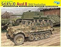 プラッツ 1/35 第二次世界大戦 ドイツ軍 Sd.Kfz.10 Ausf.B 1tハーフトラックB型 1942年生産型 DR6731 プラモデル
