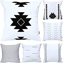Cotton Comfortable Decorative Throw Pillow Case Square Cushion Cover Pillowcase (Cover Only,No Insert)(18x18 inch/ 45x45cm...