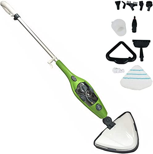 wholesale Bowoshen high quality 10-in-1 high quality Steam Mop Floor Steamer 1300W Multi-Purpose Cleaner 350ml Water Tank 3.5M Power Cord for Hardwood Floor, Tiles, Marble, Carpet, Kitchen, Detachable Handheld Steam Cleaner sale