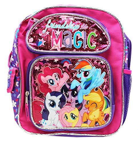 New My Little Pony Friendships Is Magic Small 12 Inches Backpack-36356