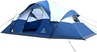OT QOMOTOP Tents, 9 Person Easy Setup Camping Tent,...