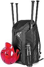EASTON PRO X Bat & Equipment Backpack Bag  Baseball Softball   2020   4 Bat Sleeves   Vented Shoe Pocket   5 Exterior Pockets   Shelf Organizer   Helmet Strap   2 Bottle Pockets   Fence Hook