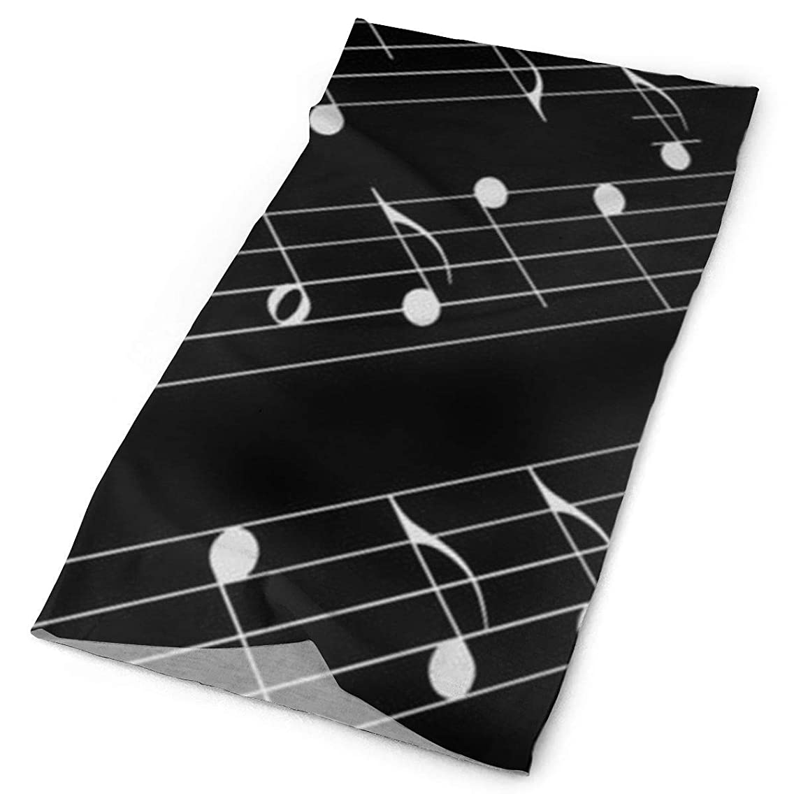 Clothing Accessories 12-in-1 Headwear - UPF 30 Versatile Outdoors Daily Headwear - Black and White Piano Keys Headband Neck Gaiter Bandana Balaclava Performance Moisture Wicking