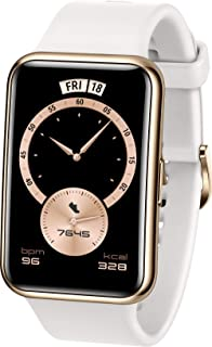 HUAWEI WATCH FIT Elegant Smartwatch, 1,64 Zoll AMOLED-Display, Persönlicher Coach, 10 Tage Akkulaufzeit, GPS, 5ATM, Herzfr...