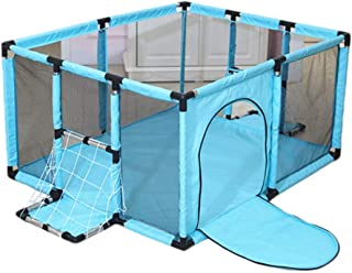 YEHL Portable Play Yard with Mattress  Small Play Pen for Baby Indoor Outdoor Kid s Safety Activity Center  62cm Tall  color GREEN