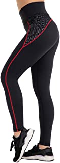 Womens Yoga Running Capris Leggings Workout Mesh Pants for Women High Waisted Sports Legging