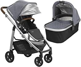 UPPAbaby Full-Size Cruz Infant Baby Stroller & Bassinet Bundle (Gregory)