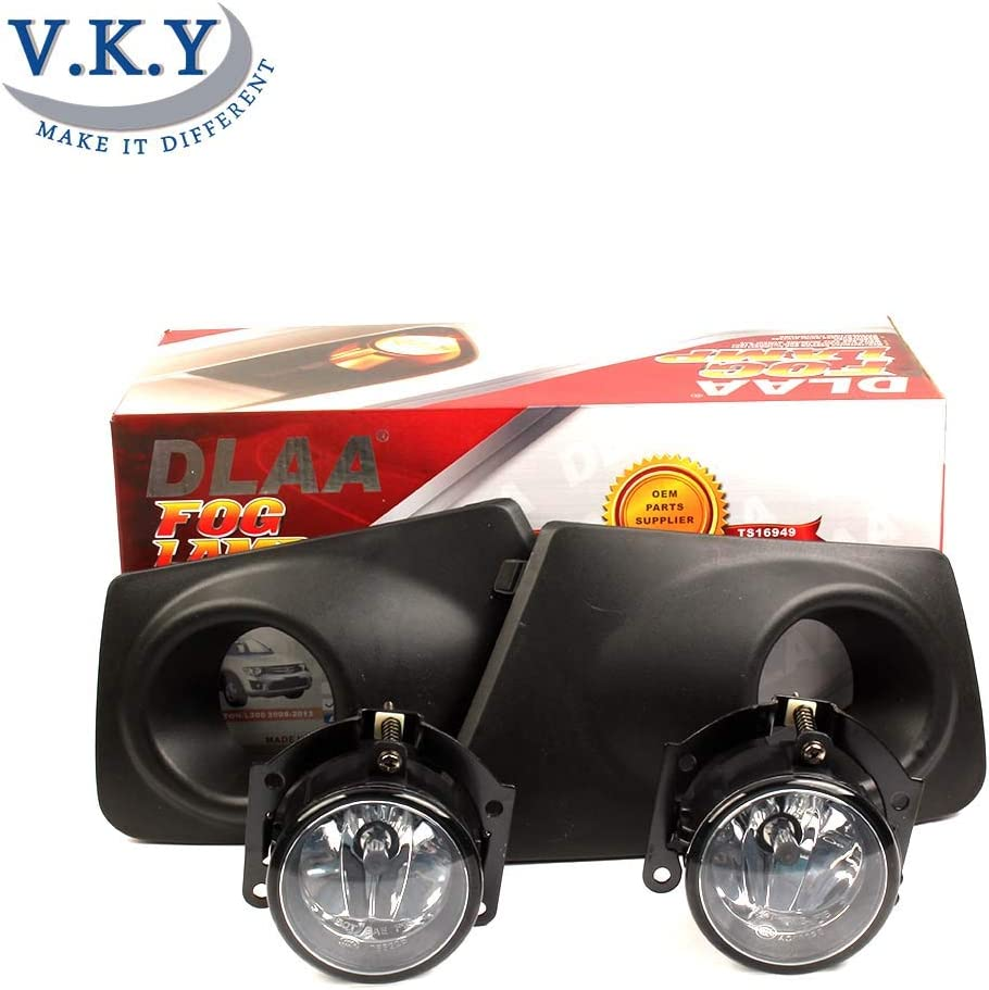 Pair Fog Lamp Spot Lights Bulbs 8321A278 For Mitsubishi L200 Triton Pickup 2010