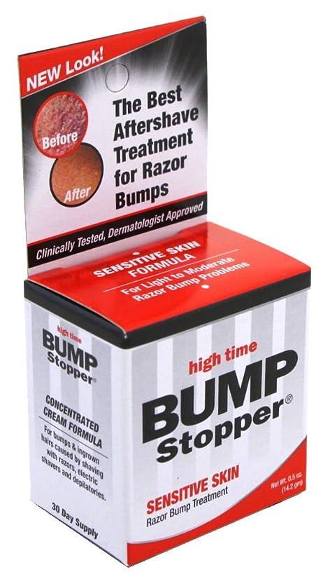 花弁反響するフラップHigh Time Bump Stopper Sensitive Skin Treatment 15ml (並行輸入品)