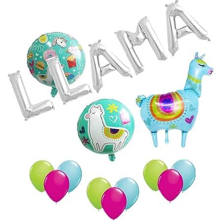 Llama Party Balloons  Llama Party Balloon  Llama Balloon  Llama Fun Party Balloon