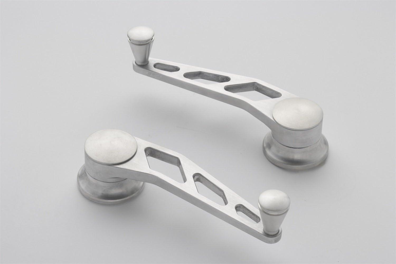 Lokar IDH-2014 Brushed Billet National products Aluminum Pair Choice Window Crank -