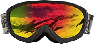 MONKEY FOREST Ski Goggles Women, Super Soft Helmet Compatible Snowboard Goggles for Men Youth with Comfortable 100% UV Pro...
