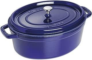 Staub 1103391 Oval Cocotte Oven, 7 quart, Dark Blue