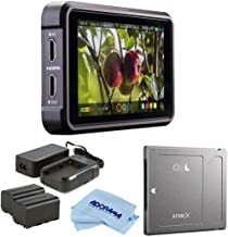 "Atomos Ninja V 5"" Touchscreen Recording Monitor, 1980x1080, 4K HDMI Input - Bundle Power Kit, Angelbird AtomX SSDmini 500G..."