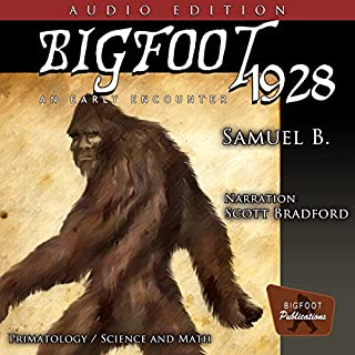 Bigfoot 1928: An Early Encounter audiobook cover art