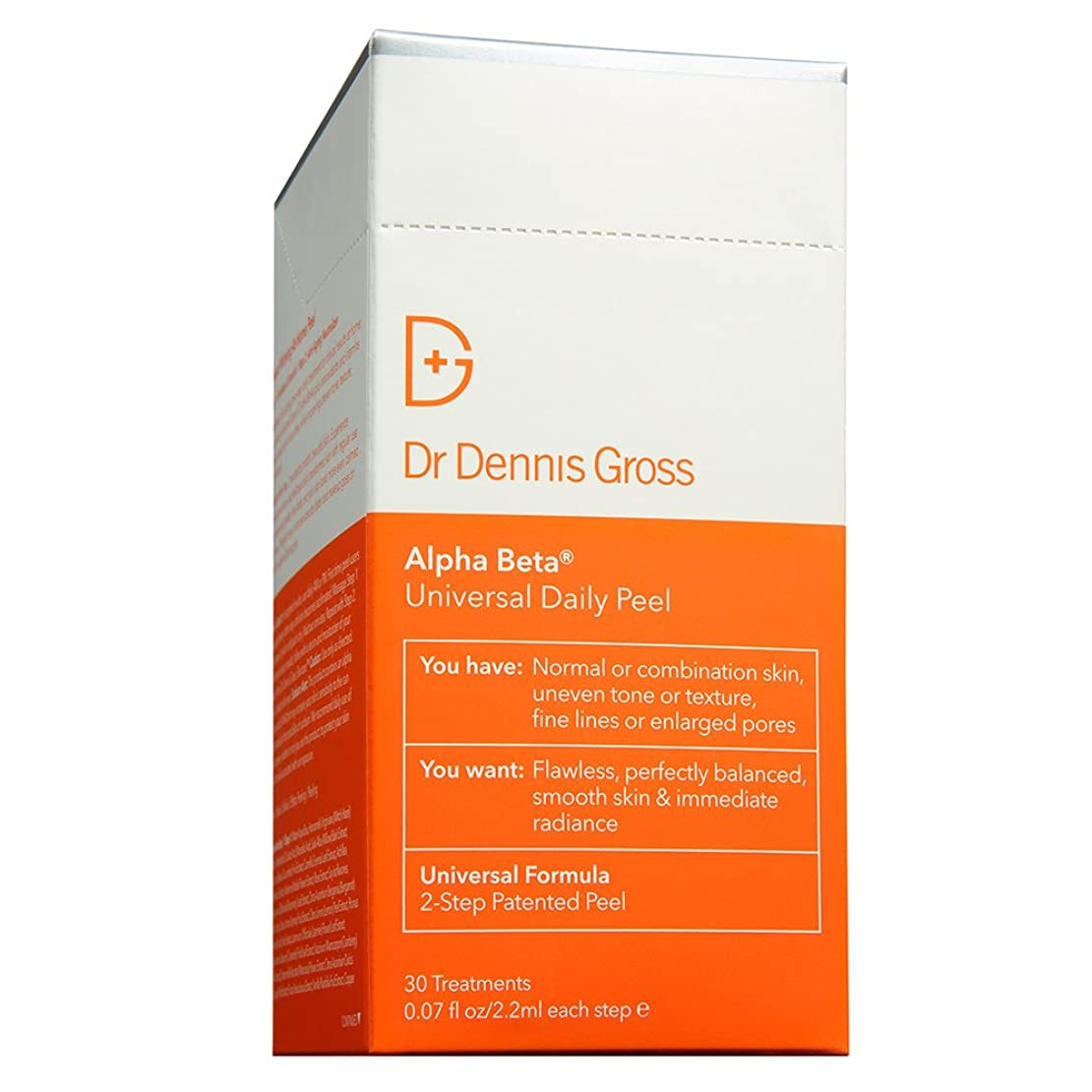 計算するヒールドクターデニスグロス Alpha Beta Universal Daily Peel 30 Treatments並行輸入品