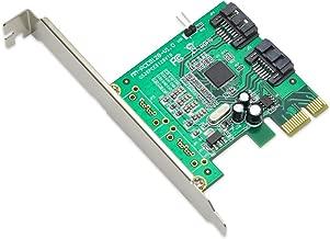 IO Crest SI-PEX40061 2 Port SATA 6Gbps PCIe 2.0 x1 Non-Raid Controller Card