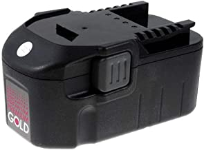 Powery Batería para Würth Master Taladro portátil BS 18-A Solid 2000mAh NiMH
