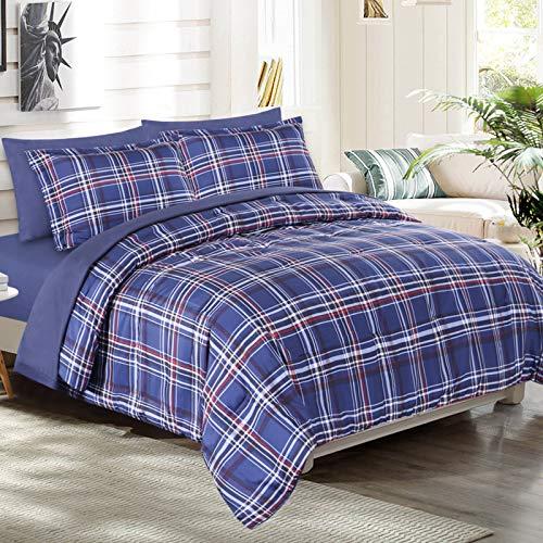EMME Bed in A Bag Queen Comforter Set...