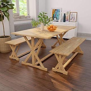 Amazon.fr : banc en teck - Salons de jardin / Mobilier de ...