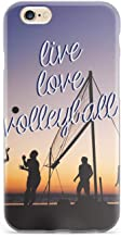 Inspired Cases - 3D Textured iPhone 6/6s Case - Protective Phone Cover - Rubber Bumper Cover - Case for Apple iPhone 6/6s - Live Love Volleyball Case