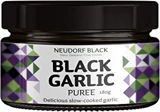 100% New Zealand Grown Premium Artisanal Gourmet Black Garlic Spread | Gluten Free | Dairy Free 180g | 6.4 oz