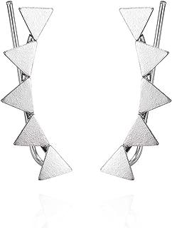 Pendientes Trepadores Mujer Plata De Ley 925 - Pendientes Mujer Plata Ear Cuffs perfectos Para Hacer un Regalo Original
