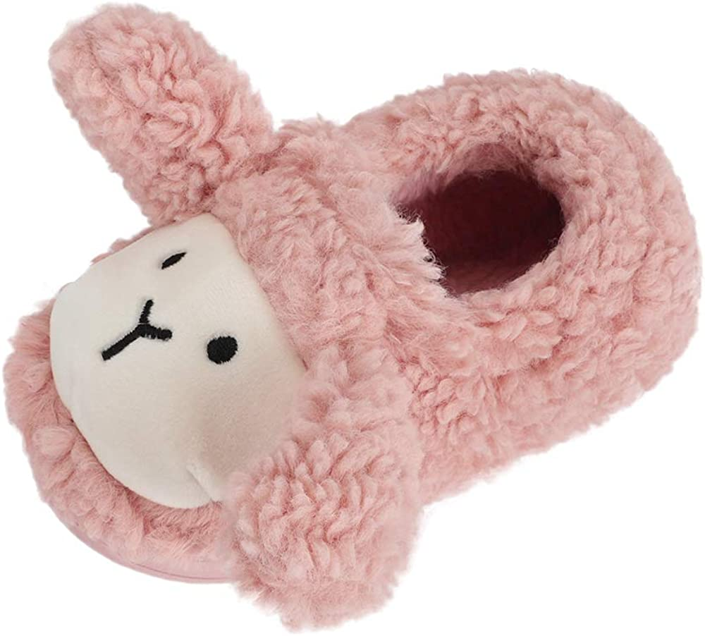Boys Girls Warm Store Slippers Cute Kids Winter Toddler At the price Animal Indoor