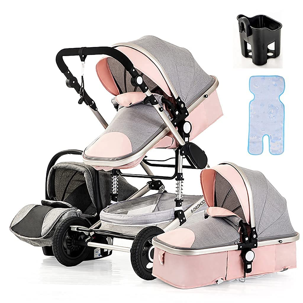 Max 78% OFF TSHAOSHUNHT 3 in 1 Pushchair service Com Baby Aluminum Stroller Carriage