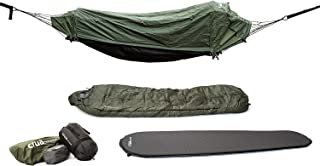 Crua Hybrid Bivy Sack - Hammock Set - Converts from a Hammock to A Single Person Tent