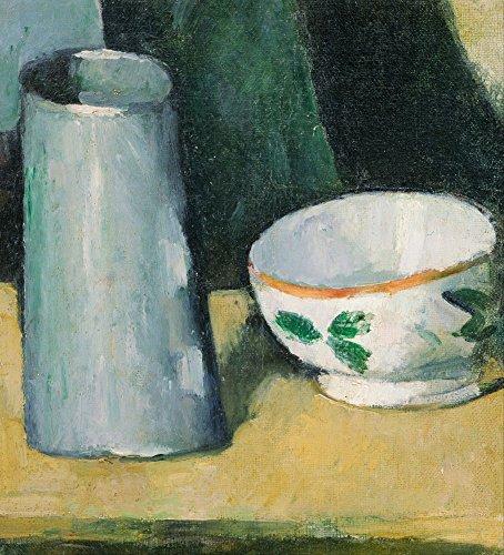 The Museum Outlet – Nature morte avec bol et Milk-jug, 1873–77, Tendue sur toile Galerie enveloppé. 50,8 x 71,1 cm