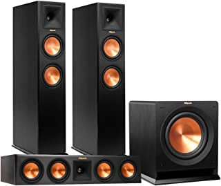 Klipsch RP-260F Reference Premiere Floorstanding Speaker Package with RP-440C Center Channel Speaker and R112 12