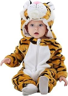 322306acd3fee Katara 1778 - Onesie Bébé Kigurumi Pyjama à Capuche Combinaison de Nuit  Barboteuse Enfant 18-