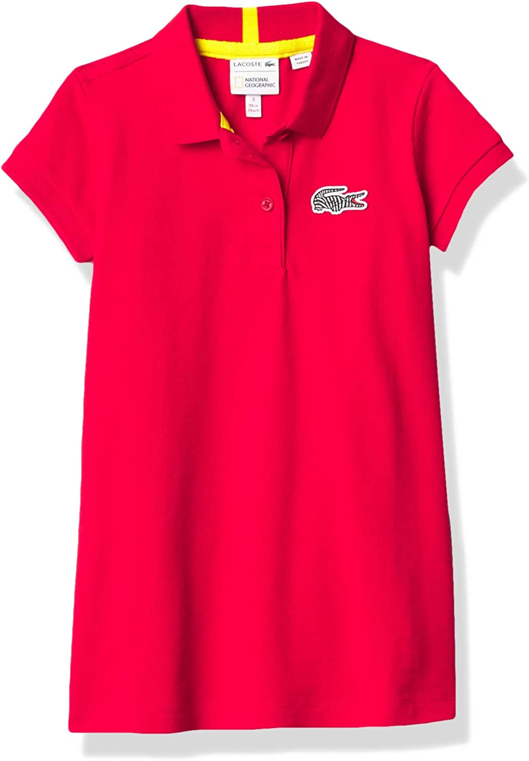 Lacoste Girls National Geographic Croc Polo Dress