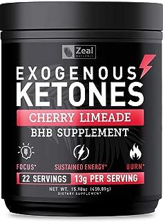 Pure Exogenous Ketones BHB Powder (13g   22 Servings) Best Tasting Keto Drink with BHB Salts Beta Hydroxybutyrate Supplement - Keto Powder for Weight Loss, Energy & Ignite Ketosis