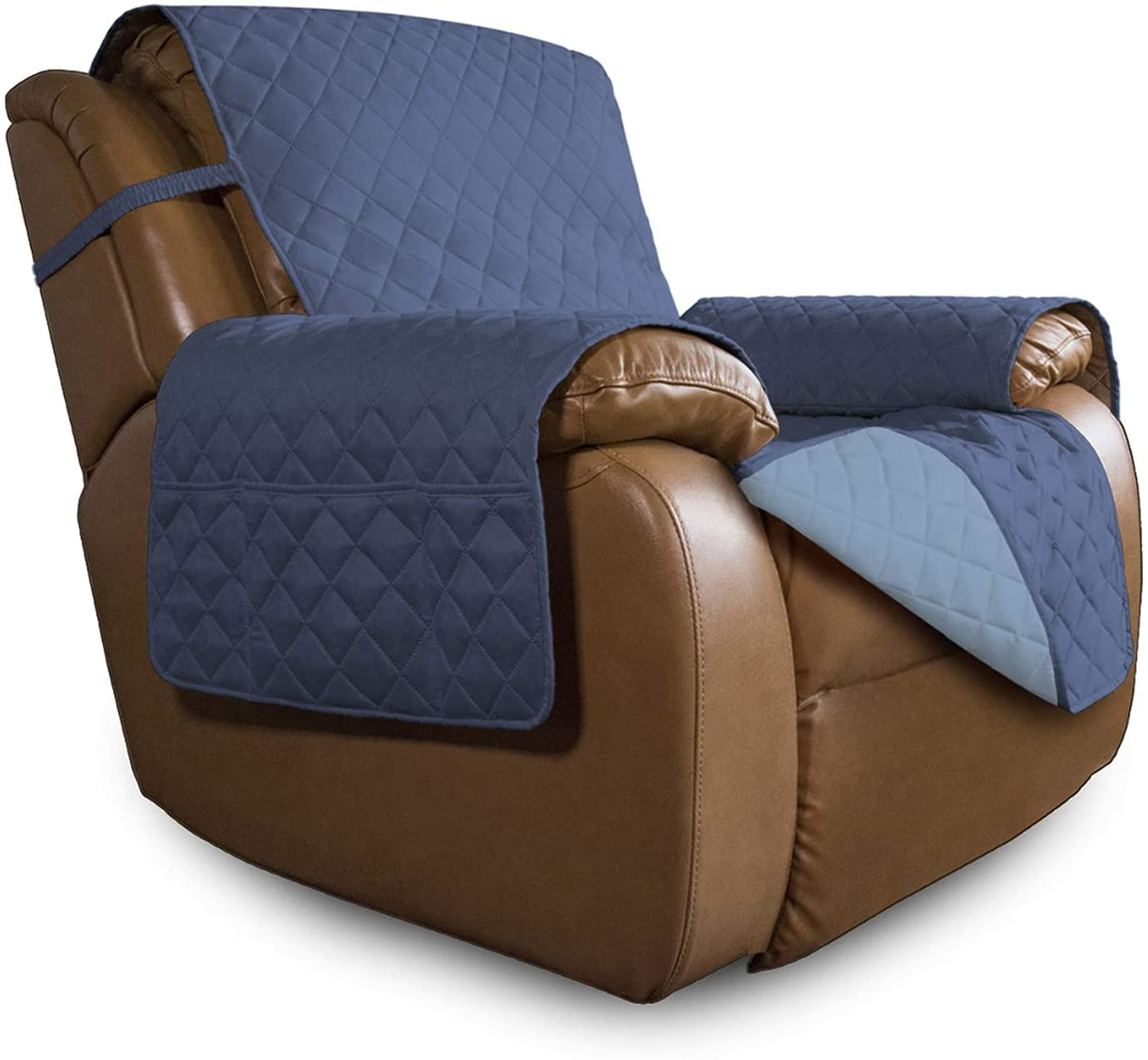 Easy-Going Oversized Recliner Reversible Furniture 1 Super beauty product restock quality top! year warranty Sofa Pr Cover
