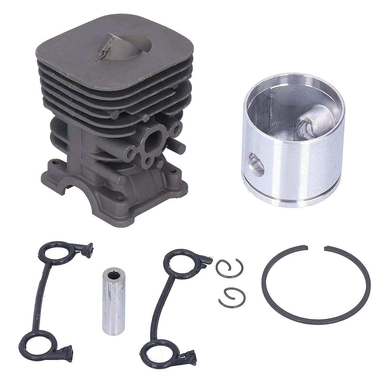 Kit de pistón de cilindro, kit de anillo de pistón de cilindro de aluminio de 35 mm, accesorio de repuesto para motosierra