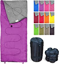 REVALCAMP Sleeping Bag Indoor & Outdoor Use. Great for Kids, Boys, Girls, Teens &..