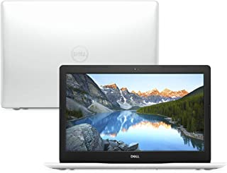 "Notebook Dell Inspiron 15 3000, i15-3584-A10B, 7ª Geração Intel Core i3-7020U, 4 GB RAM, HD 1TB, Intel® HD Graphics 620, Tela 15.6"" LED HD, Windows 10, Branco"